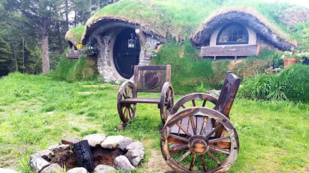 The owners of the Hobbit Mountain Hole are renaming their Airbnb after being contacted by a representative from Warner Bros. Entertainment.
