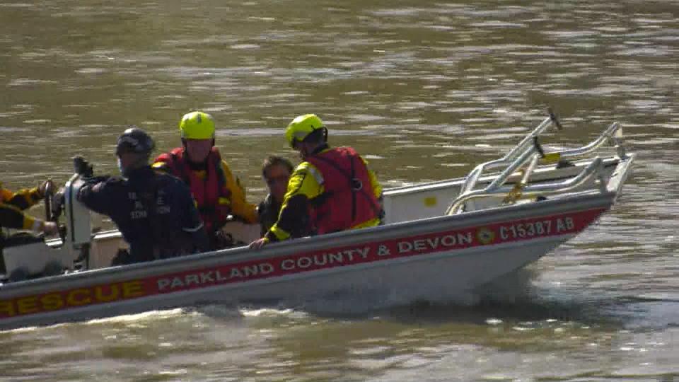 Devon water rescue