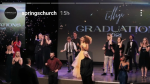 Social media posts appear to show a maskless graduation ceremony at Springs Church. (Source: Imgur/Instagram)
