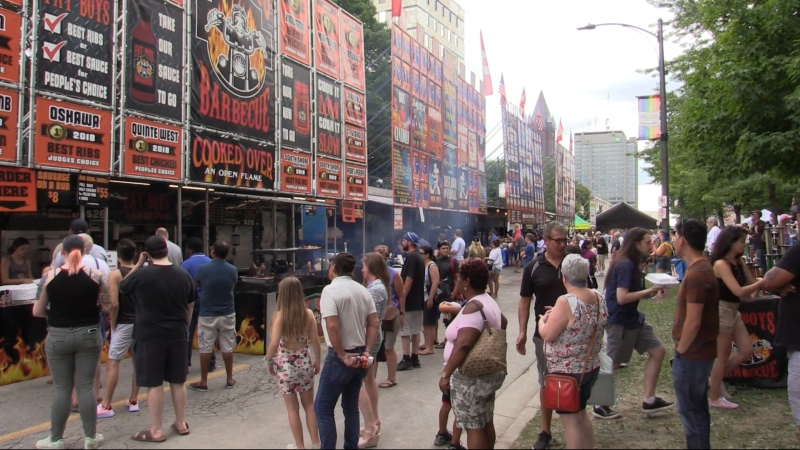 Ribfest in London, Ont. (File)