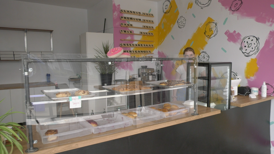 Owners of a North Bay doughnut shop are expanding