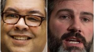 Neither Calgary Mayor Naheed Nenshi or Edmonton Mayor Don Iveson are seeking re-election this fall.