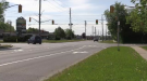 The intersection of Avenue Road and Elgin Street North in Cambridge. (Johnny Mazza/CTV Kitchener) (May 24, 2021)