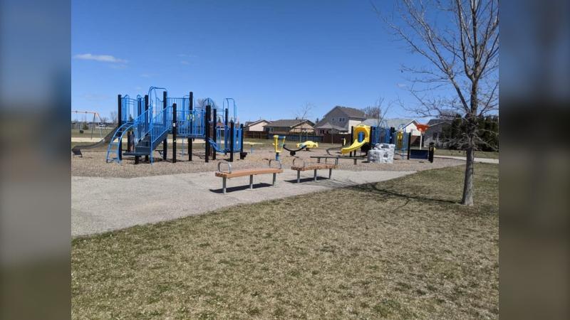 Rotary Sunshine Playground. (Source: Facebook/Mapping Winnipeg)