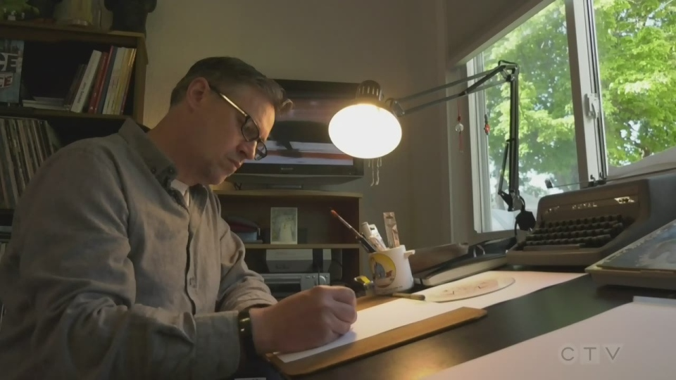 Sawatsky Sign-Off- Daily Drawings