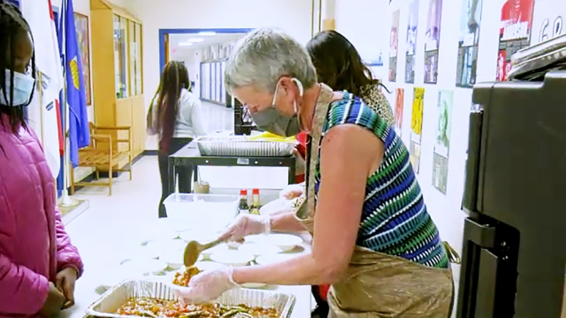 She's a school volunteer who inspires students, a grandma and this week's Inspired Albertan, Nora Gallant. Darrel Janz reports