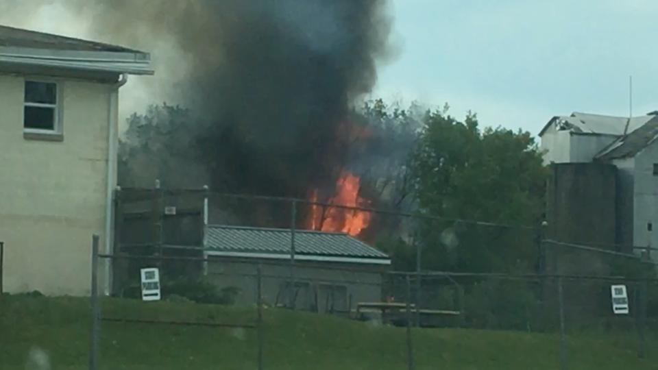 Brockville fire