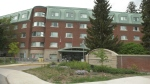 The Centre d'accueil Champlain long-term care home. located on Perrier Avenue in Ottawa. (Leah Larocque/CTV News Ottawa)