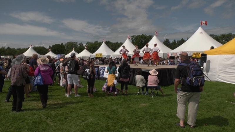 A file photo from Edmonton Heritage Festival. (CTV News Edmonton)