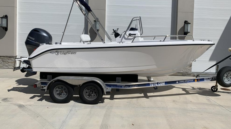 A photo of a boat similar to the one that was stolen on May 29, 2020. (Photo courtesy: HRP)
