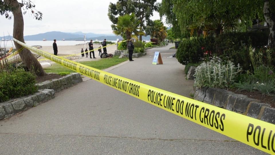 Police Sunset Beach