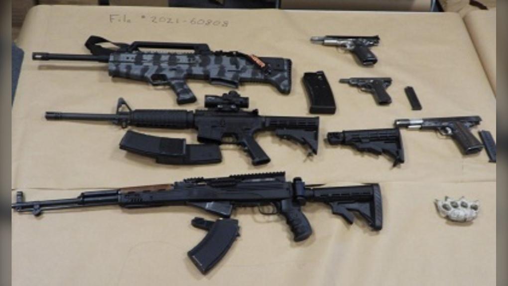 rifles and guns