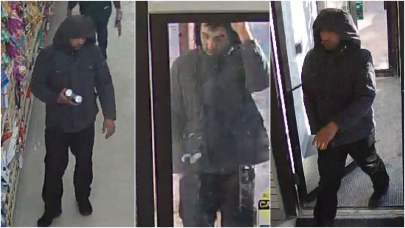 This man, believed to be responsible for a hate crime in northeast Calgary, was charged Tuesday in relation to the February incident, where he is alleged to have spit on a woman and called her a racial slur. (Supplied)