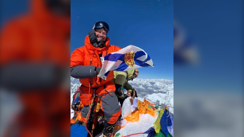 Kevin Walsh, a mountaineer, with 15-years of experience, successfully summited Mount Everest on May 23, after years of planning and preparation.