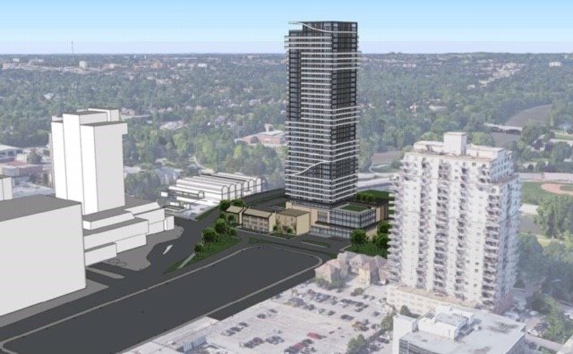 Proposed high rise