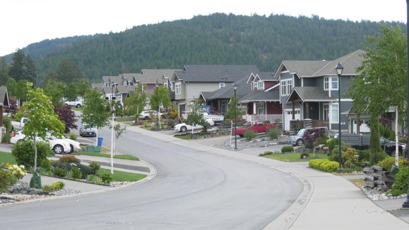 Sooke's Sunriver Estates neighbourhood is shown: May 27, 2021 (CTV News)