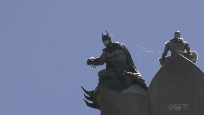 """""""The roofer said, 'There's something weird on your cross up there!'"""" Adam attempts to find out the story behind a dynamic duo spotted on the roof of a downtown Victoria church."""