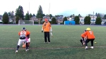 Farhan Lalji is seen coaching the New Westminster Hyacks in this undated image.