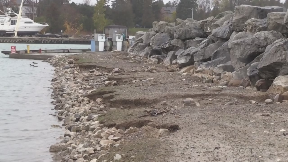 Georgian Bay water levels