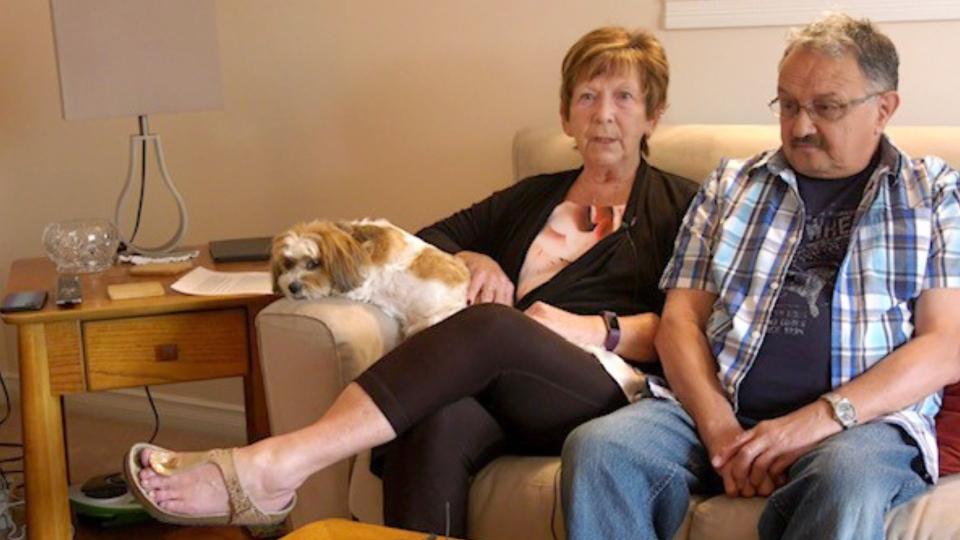 Brenda Smith Dan Dlugosz hip surgery Calgary