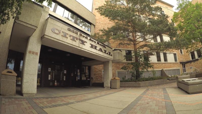 Saskatoon City Hall is pictured in this file photo. (Chad Hills/CTV Saskatoon)