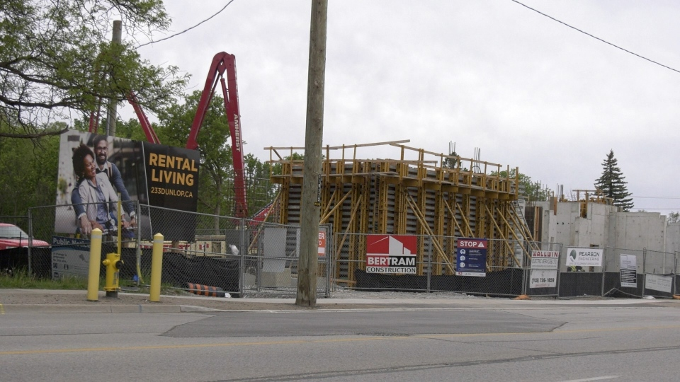 Barrie affordable housing units