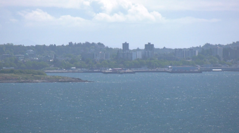 Ogden Point from Colwood
