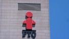 The Federation des travailleurs et travailleuses du Quebec, FTQ, building is seen in Montreal on Tuesday, June 18, 2019. THE CANADIAN PRESS/Paul Chiasson