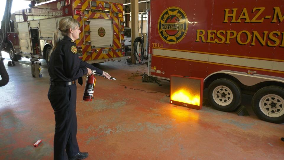 Sault fire extinguisher tech