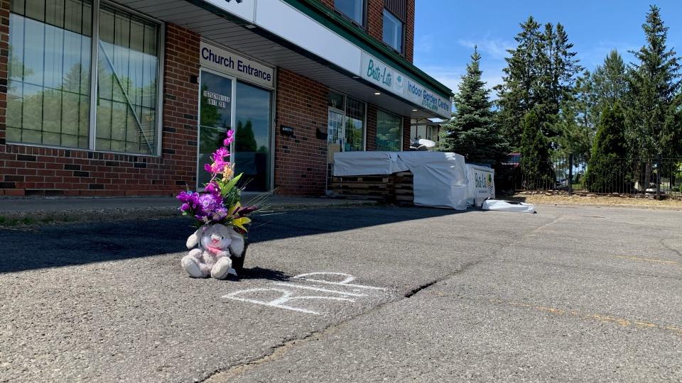 Cyrville shooting memorial