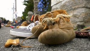 kahnawake shoes catholic church