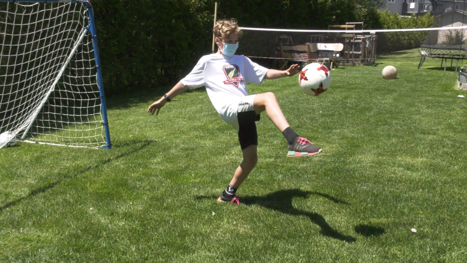 Sudbury soccer player