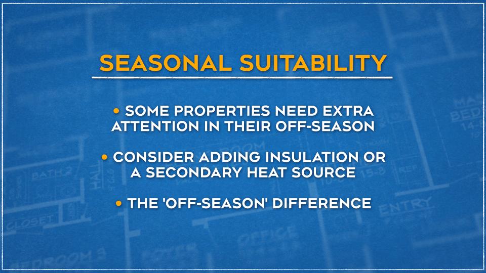Seasonal Suitability Graphic