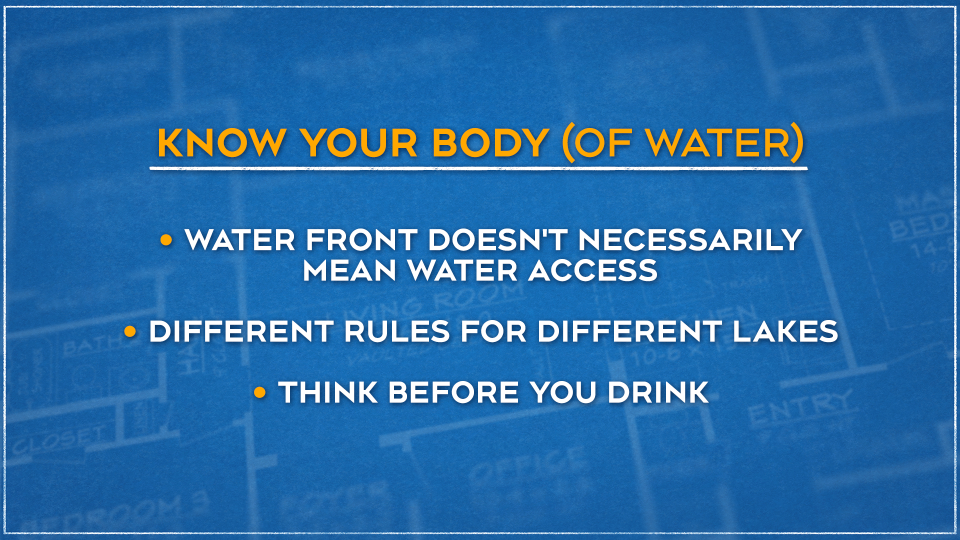 Know your body of water graphic