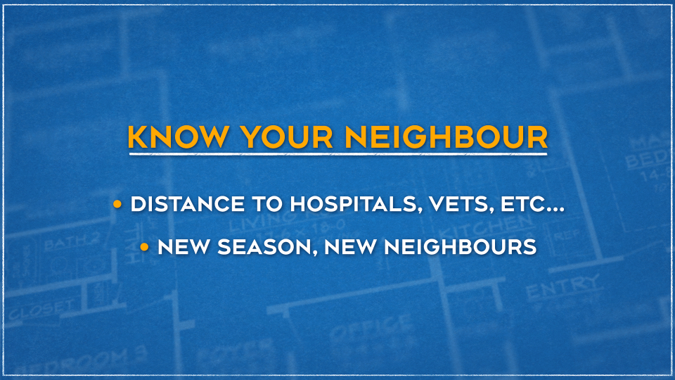 Know your neighbour graphic