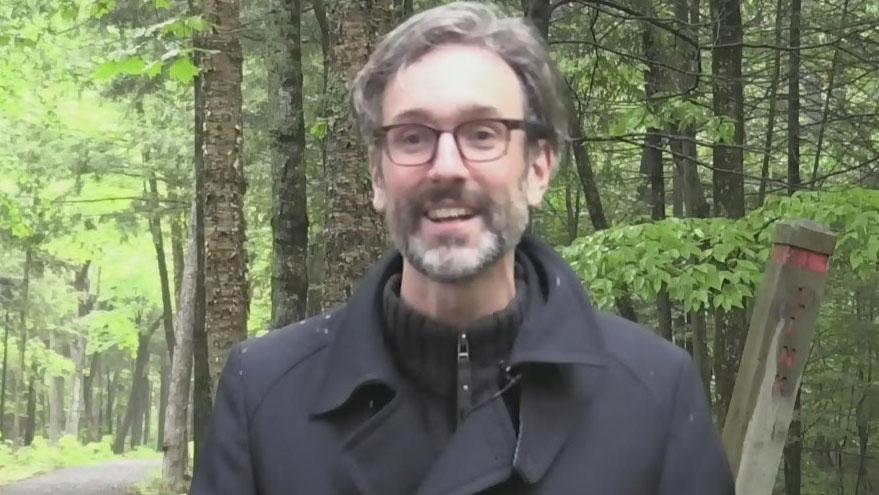 David Myles sings Fredericton's praises