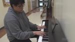 Manitoulin student shows impressive piano skills