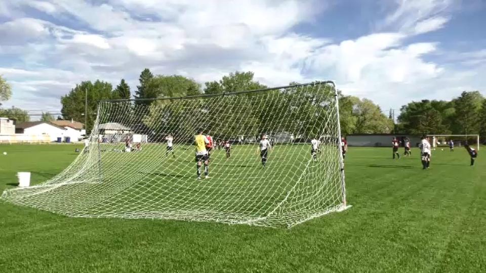 Kids soccer in Saskatoon