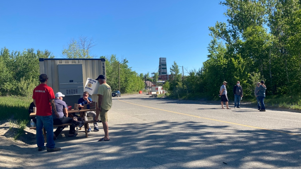Mine workers at Vale in Sudbury hit the picket lin