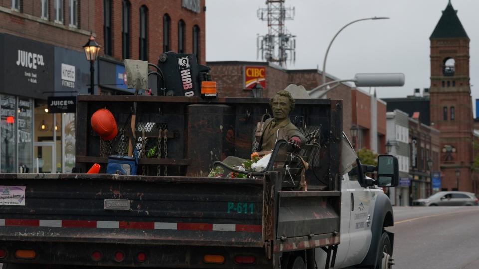 Sir John A Macdonald statue PEI