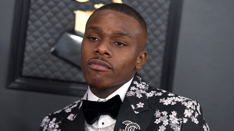 DaBaby arrives at the 62nd annual Grammy Awards on Jan. 26, 2020, in Los Angeles. (Photo by Jordan Strauss/Invision/AP, File)