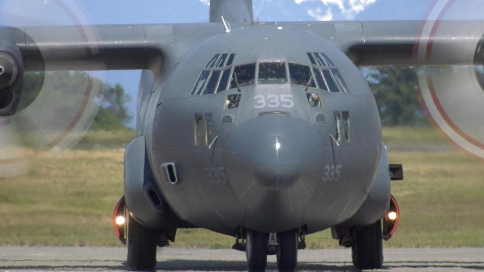 Hercules aircraft Comox