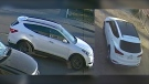 Detectives released photos on June 2, 2021, of a 2017 or 2018 white Hyundai Santa Fe they say was involved in the fatal shooting of Ahmed Azmi Ahmed on Oct. 23, 2018.