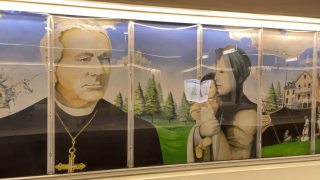 Vital Grandin mural