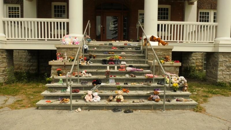 A growing memorial.
