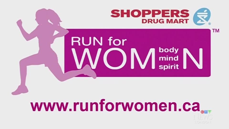 Shoppers Run for Women