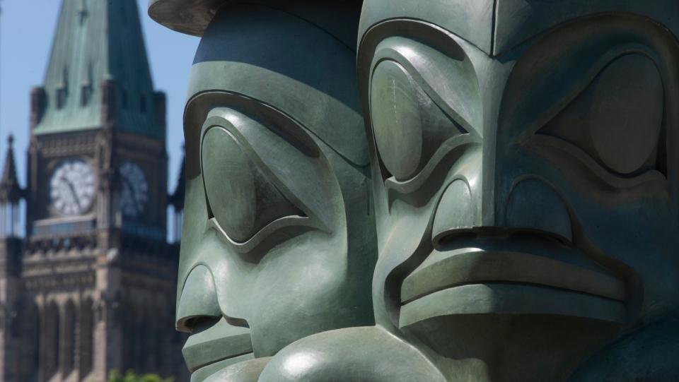 The Three Watchmen statue, Ottawa Parliament