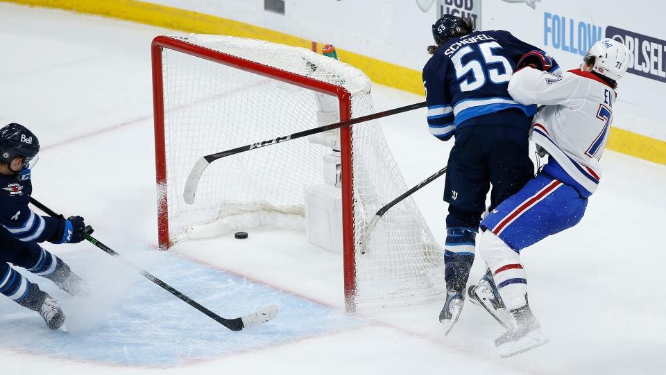Winnipeg Jets' Mark Scheifele