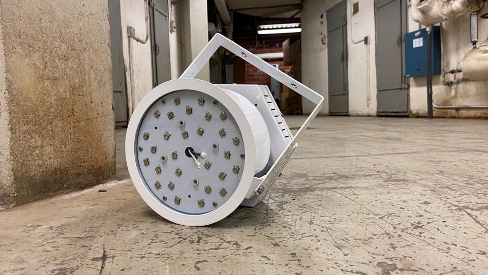 NEXNORD's LED light.