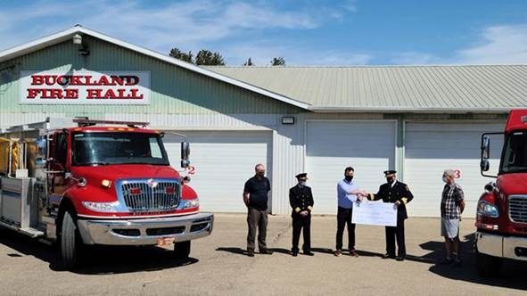 Buckland Fire Donation